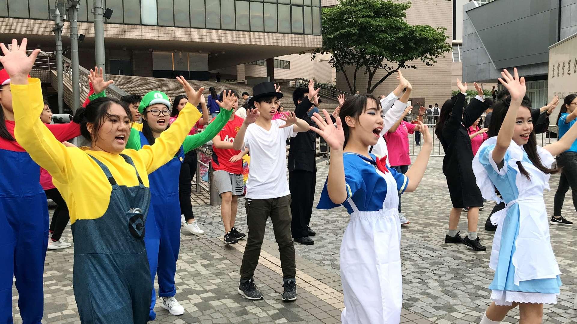 「反斗YA大街騷」街頭派對│服務花絮